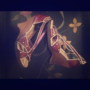 Wedge heels-Super Cute!